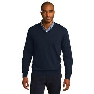 Port Authority® Men's V-Neck Sweater