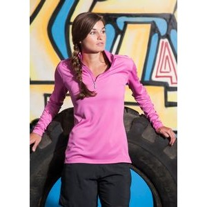Women's Boston Syntrel™ Interlock ¼-Zip Pullover Shirt